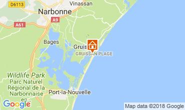 Carte Gruissan-Plage Appartement 114582