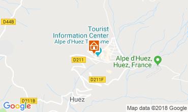 Carte Alpe d'Huez Studio 116497