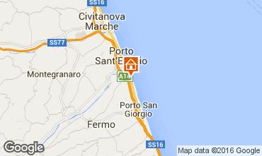 Carte Porto San Giorgio Mobil-home 86295