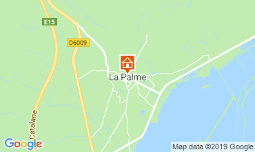 Carte La Palme Gite 118676