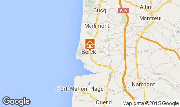 Carte Berck-Plage Villa 76774