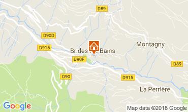 Carte Brides Les Bains Appartement 114912