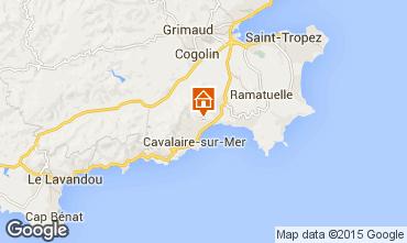 Carte Cavalaire-sur-Mer Appartement 83249