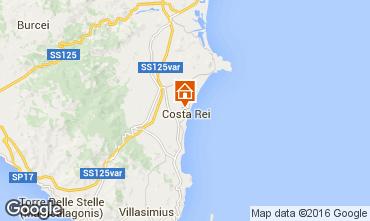 Carte Costa Rei Villa 93479