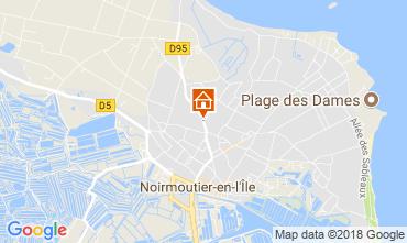 Carte Noirmoutier en l'Île Maison 115256