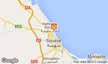 Carte Sousse Appartement 80547