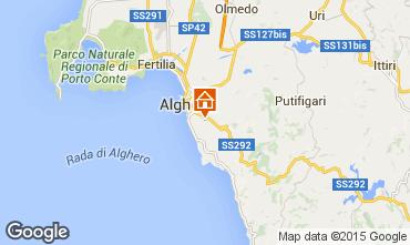 Carte Alghero Villa 47678