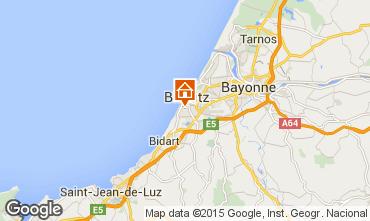 Carte Biarritz Studio 80604