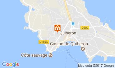 Carte Quiberon Maison 111327