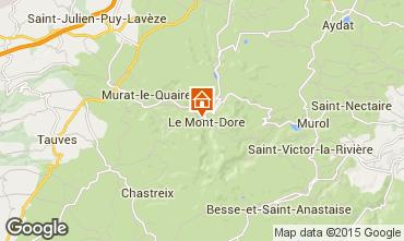Carte Le Mont Dore Appartement 76148