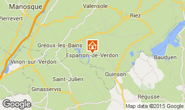 Carte Esparron-de-Verdon Studio 96206