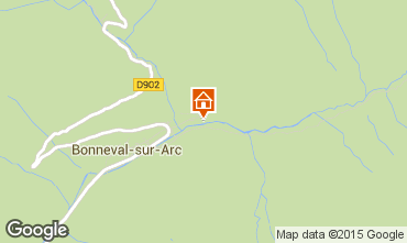 Carte Bonneval sur Arc Appartement 83229