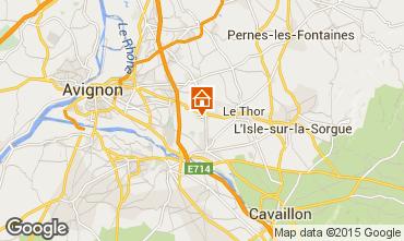 Carte Avignon Villa 99408