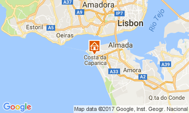Carte Costa de Caparica Appartement 108440