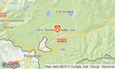 Carte Font Romeu Appartement 67500