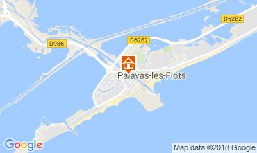 Carte Palavas-les-Flots Appartement 114446
