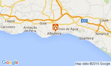 Carte Albufeira Appartement 105450
