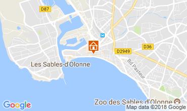 Carte Les  Sables d'Olonne Appartement 114771