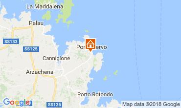 Carte Porto Cervo Chambre d'hôte insolite 115523
