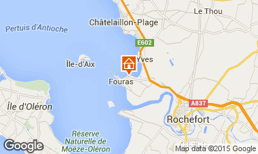 Carte Fouras Villa 80650