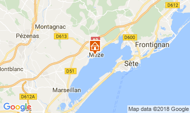 Carte Mèze Appartement 115797
