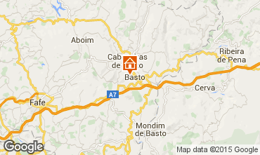 Carte Braga Gite 76667