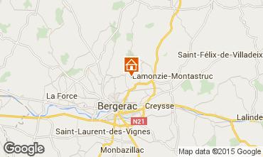 Carte Bergerac Gite 81835