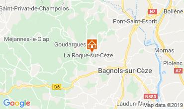 Carte Avignon Villa 119856