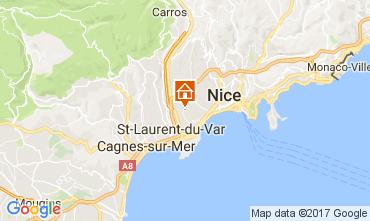 Carte Nice Villa 111842