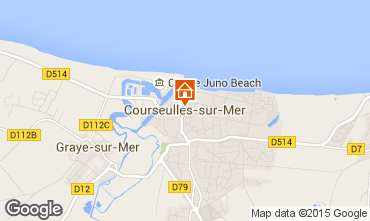 Carte Courseulles-sur-Mer Appartement 99204