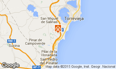 Carte Torrevieja Villa 39657