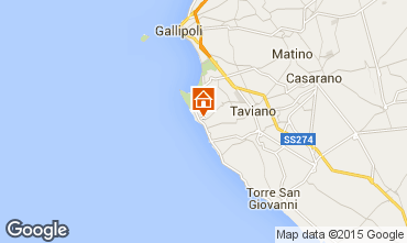 Carte Gallipoli Villa 84965
