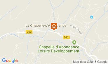 Carte La Chapelle d'Abondance Appartement 111731