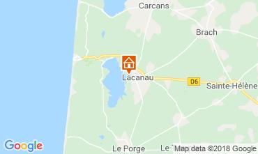 Carte Lacanau Villa 112923