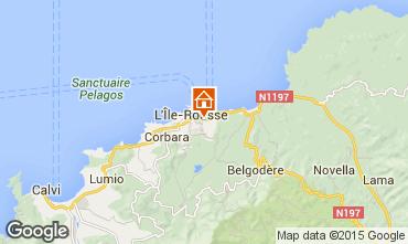 Carte Ile Rousse Appartement 1377