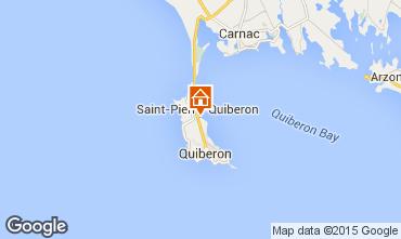 Carte Saint Pierre Quiberon Villa 81399