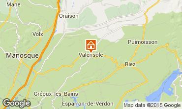 Carte Valensole Villa 94865