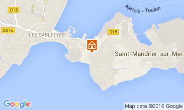 Carte Saint Mandrier sur Mer Studio 84869