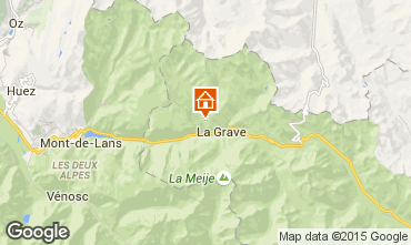 Carte La Grave - La Meije Chalet 4764
