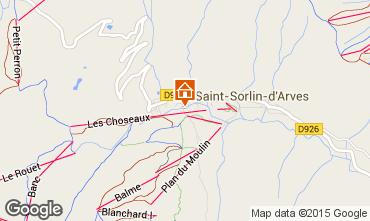 Carte Saint Sorlin d'Arves Studio 2690