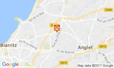 Carte Anglet Villa 108520