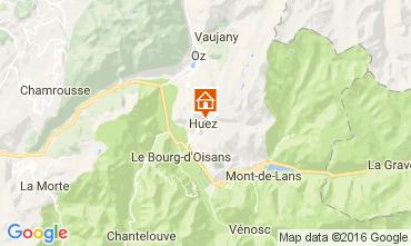 Carte Alpe d'Huez Chalet 14816
