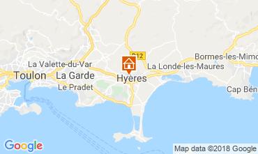 Carte Hyères Maison 116924