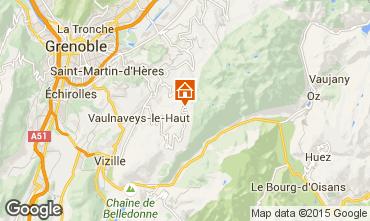 Carte Chamrousse Appartement 91073