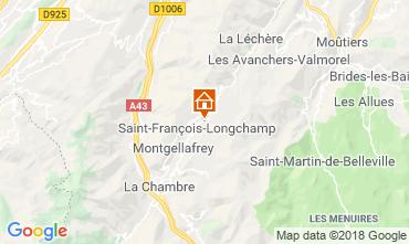 Carte Saint François Longchamp Chalet 117215