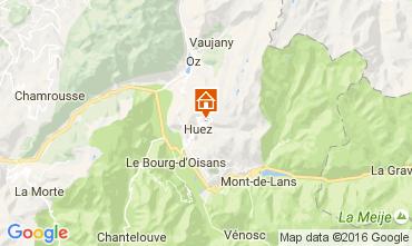 Carte Alpe d'Huez Studio 22839