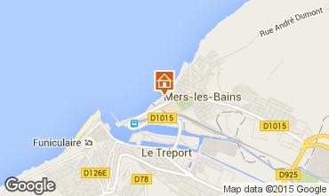 Carte Mers Les bains Appartement 101113