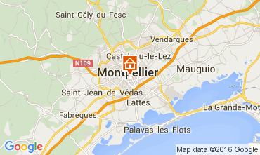 Carte Montpellier Appartement 104594