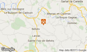 Carte Belvès Gite 91629