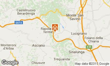 Carte Rapolano Terme Appartement 69682